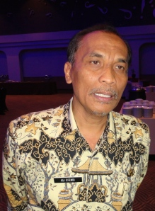 Kepala Dinas Pertanian Perkebunan Peternakan dan Kehutanan Kabupaten Cirebon Ali Efendi.